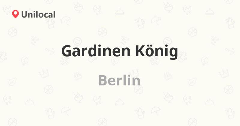 Gardinen König – Berlin, Maybachufer 6 (1 Bewertung, Adresse und