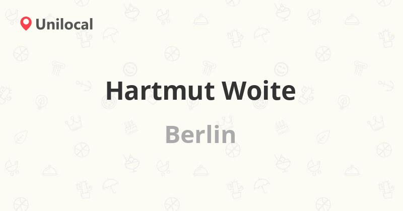 Hartmut Woite