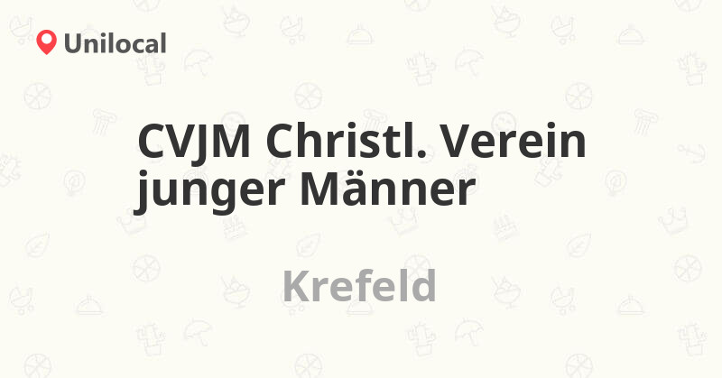 CVJM Christl. Verein junger Männer - Krefeld, Westwall 37