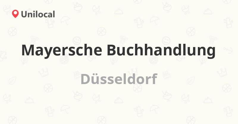 öffnungszeiten Mayersche Düsseldorf