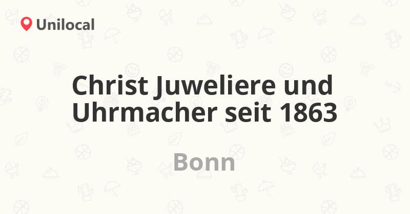 Juwelier Christ Bonn